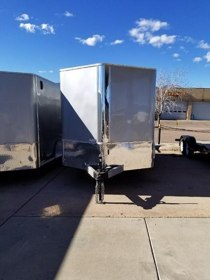 2018 RM Manufacturing EC 7 14 TA (STANDARD GRADE) Enclosed Cargo Trailer-CO SPRINGS
