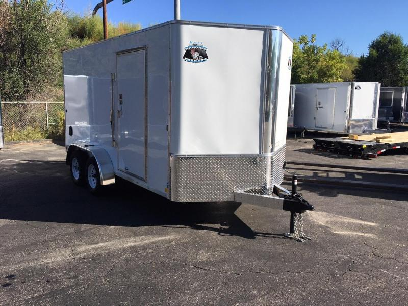 2019 R&M Manufacturing 7x14 v-nose TAS Enclosed Cargo Trailer-WHEAT RIDGE