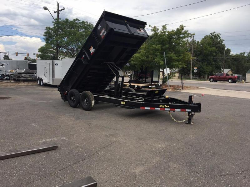 2018 Big Tex Trailers 14LP-14 Dump Trailer-WHEAT RIDGE
