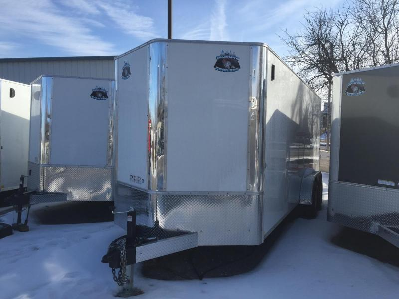 2018 RM Manufacturing EC 7 20 TA Enclosed Cargo Trailer