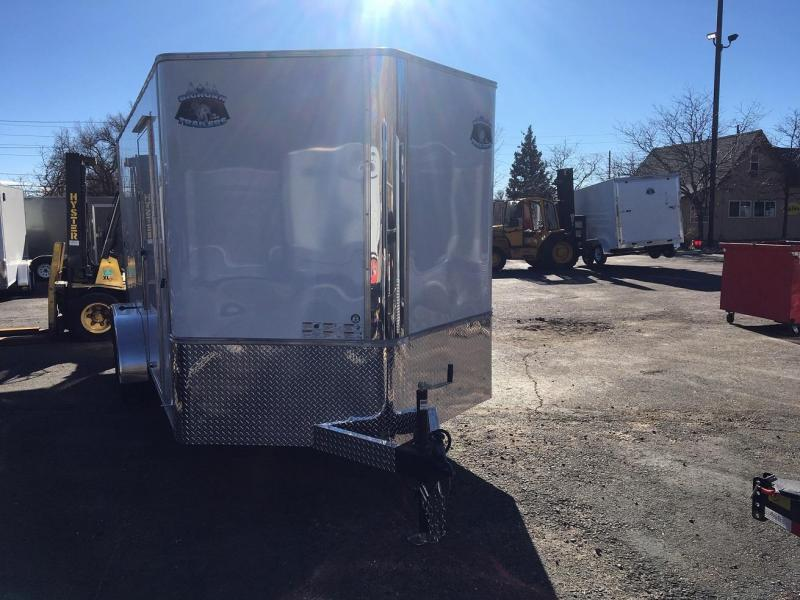 2020 R&M Manufacturing 7x12 TAS Enclosed Cargo Trailer-WHEAT RIDGE