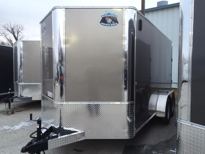2018 RM Manufacturing 7x14 Contractor Enclosed Cargo Trailer
