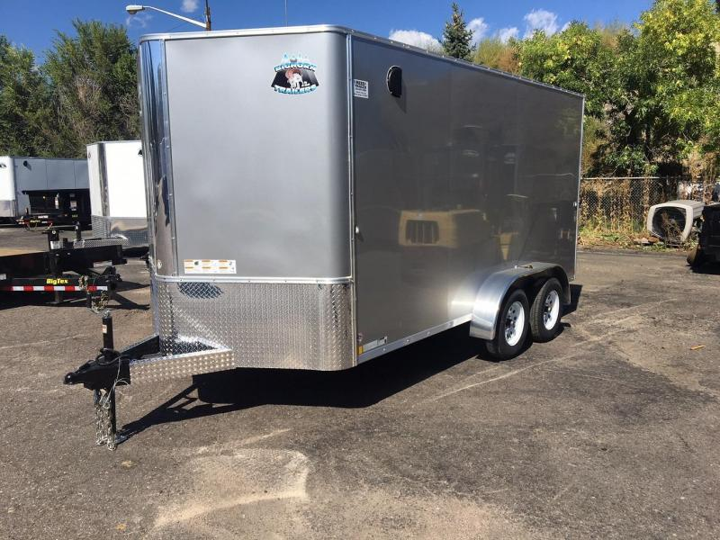 2019 R&M Manufacturing 7X14v-nose TAS Enclosed Cargo Trailer-Wheat Ridge