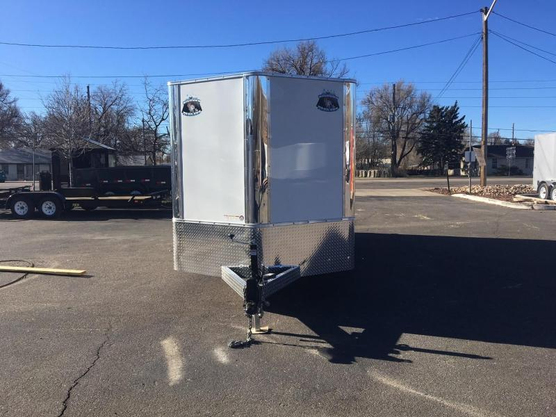 2018 RM Manufacturing EC 7 18 TA (CONTRACTOR GRADE) Enclosed Cargo Trailer