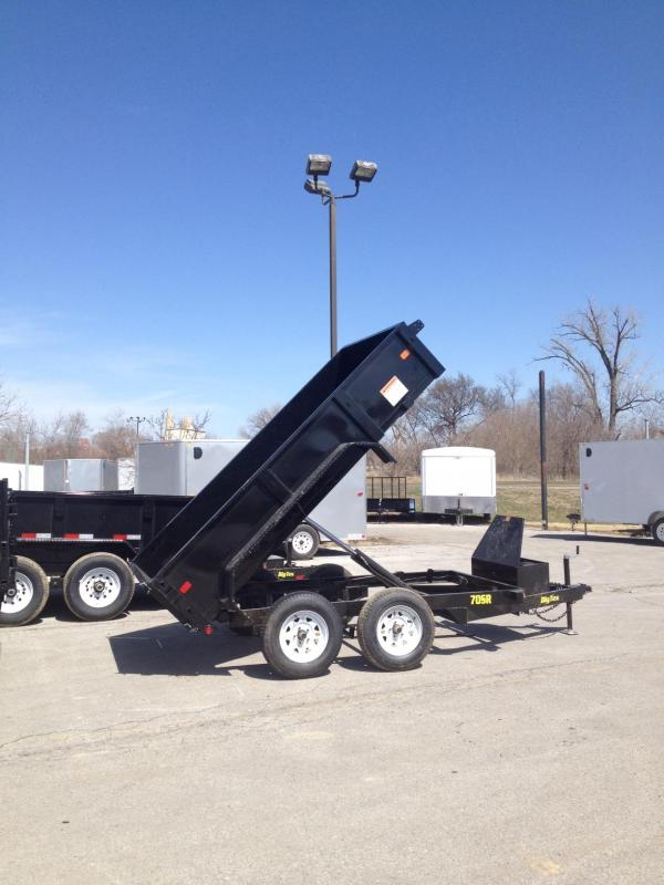 2017 Big Tex Trailers 5x10 70SR Dump Trailer