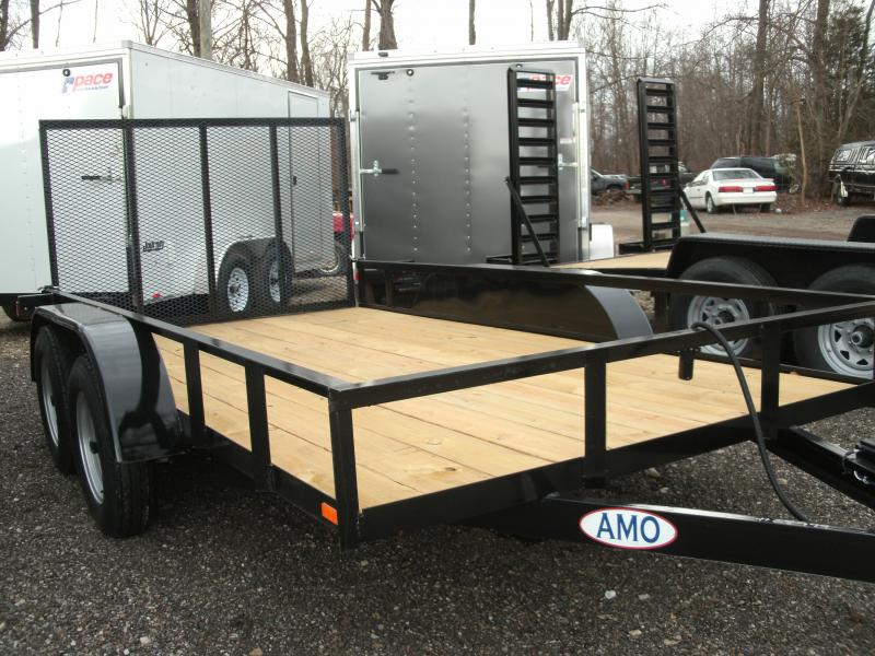 2019 American Manufacturing Operations (AMO) 6 X 12 UT TANDEM Utility Trailer