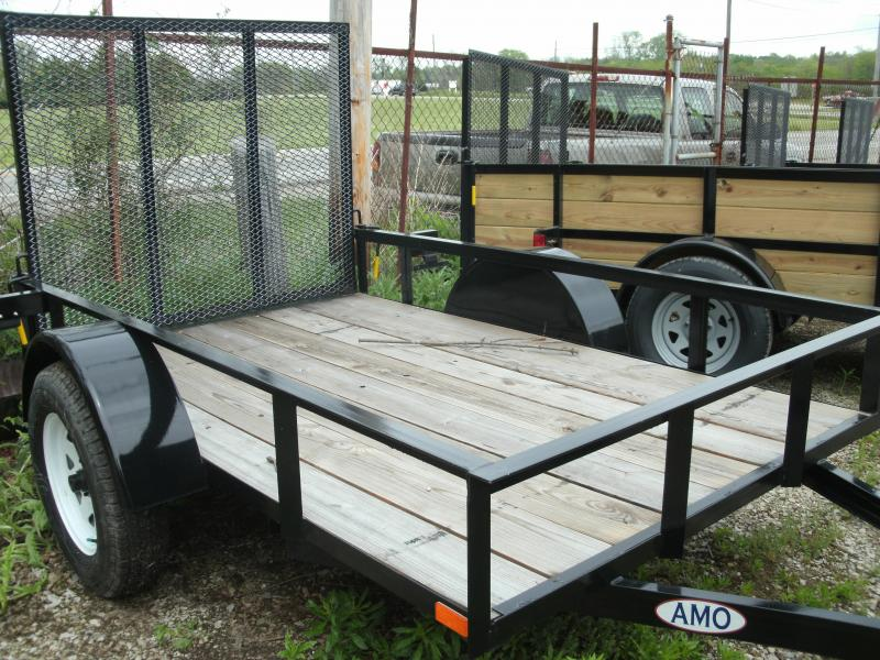 2020 American Manufacturing Operations (AMO) 5x8UT Utility Trailer