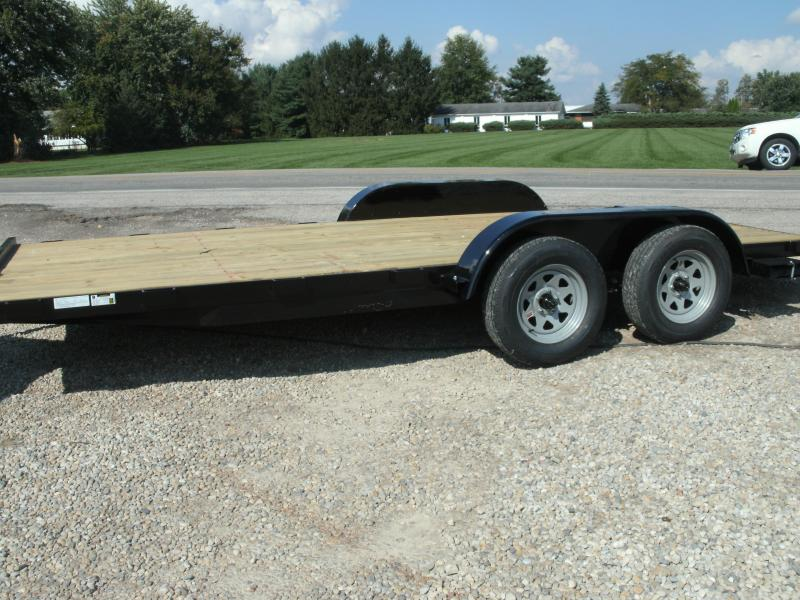 2019 American Manufacturing Operations (AMO) 18 FLATBED Flatbed Trailer