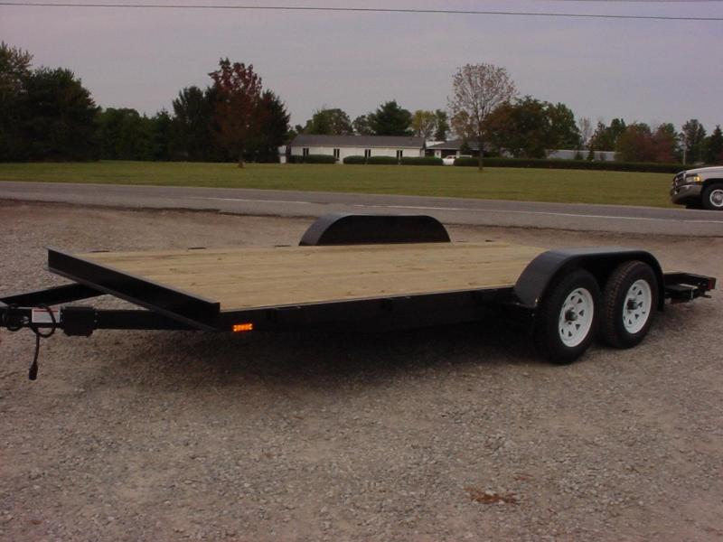 2019 American Manufacturing Operations (AMO) 16 FLATBED Flatbed Trailer