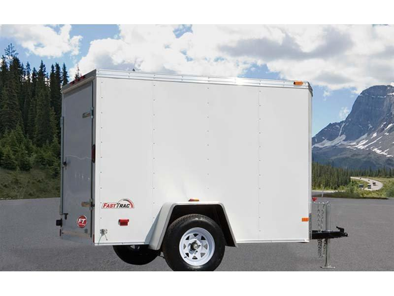 2018 Wells Cargo FT581 Enclosed Cargo Trailer