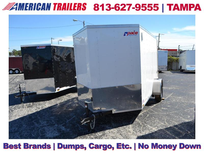 6x10 Pace American Trailers | Enclosed Cargo Trailer