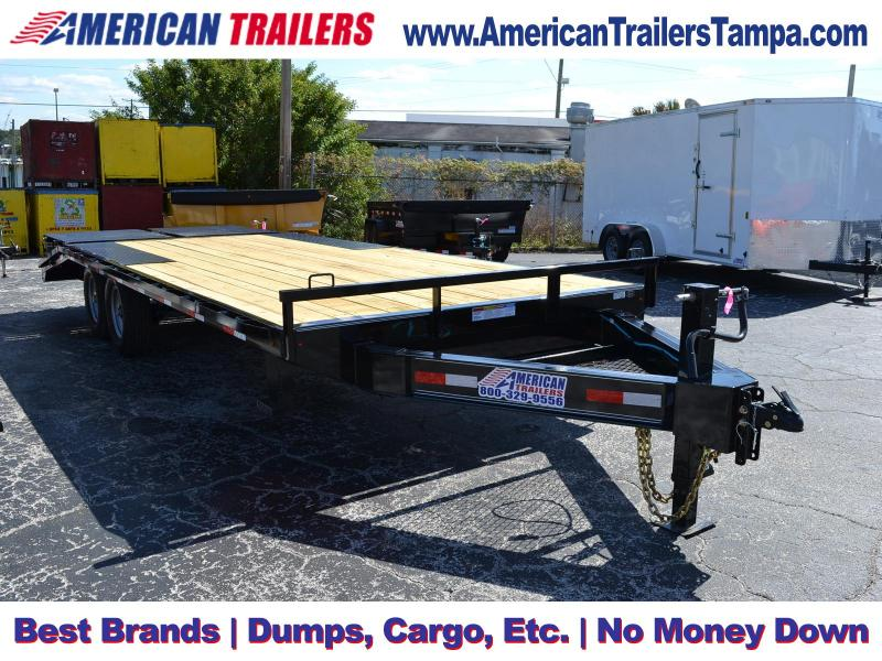 8.5x22 Lamar Trailers | Equipment Trailer [Deck-Over]