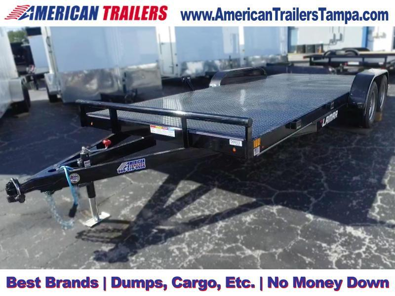 7x18 Lamar Trailers | Car Hauler Equipment Trailer