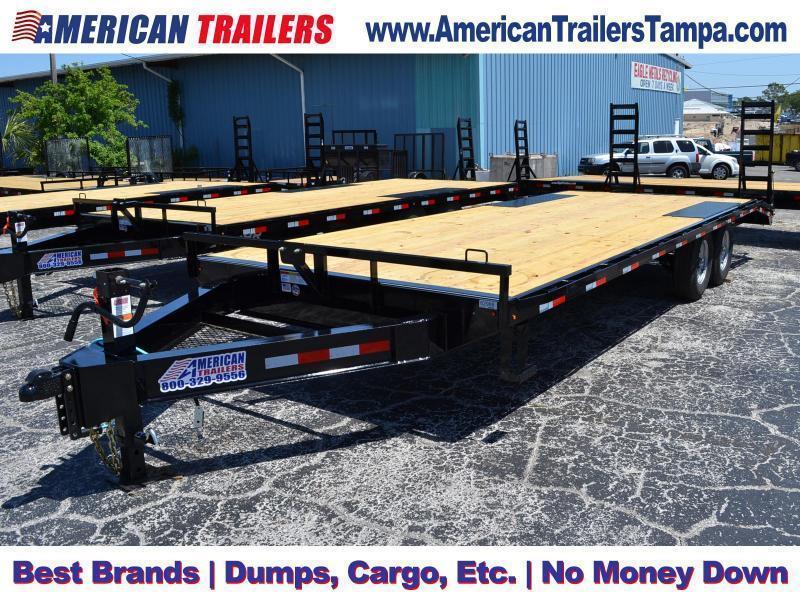 8.5X24 Lamar Trailers | Equipment Trailer