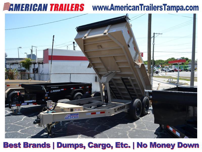 7x14 Lamar Trailers | Dump Trailer
