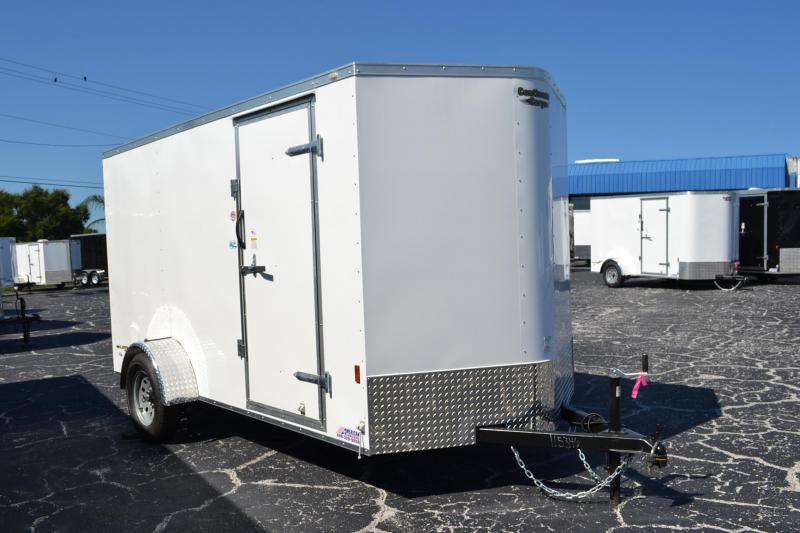 6x12 Continental Cargo | *Enclosed*Trailer*Trailers