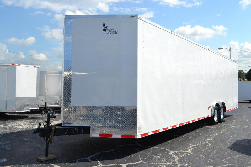 2017 8.5'X32' Lark United Enclosed Car Hauler*Cargo*Trailer* Car / Racing Trailer
