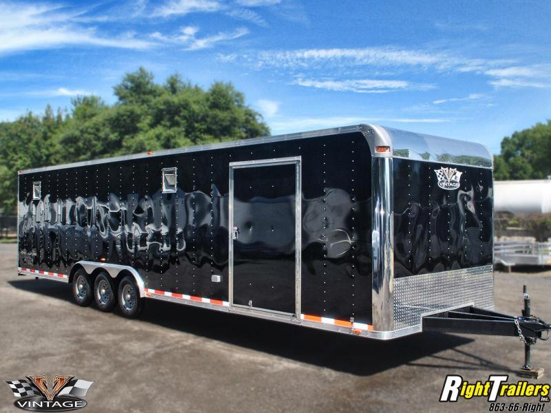 Race car trailers american trailers tampa new and used trailer