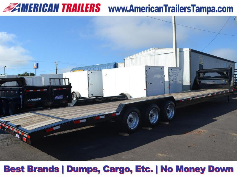 2018 Lamar Trailers Equipment Trailer Equipment Trailer