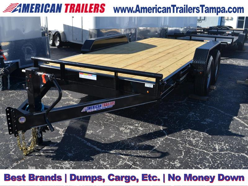 7x16 Lamar Trailers | Equipment Trailer [Tilt Deck]