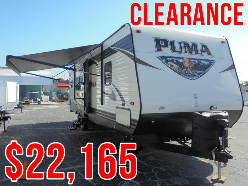 CLOSEOUT!!! Puma by Palamino Travel Trailer