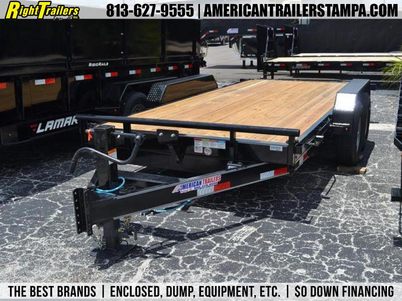 7x16 7 TON TILT DECK EQUIPMENT TRAILER