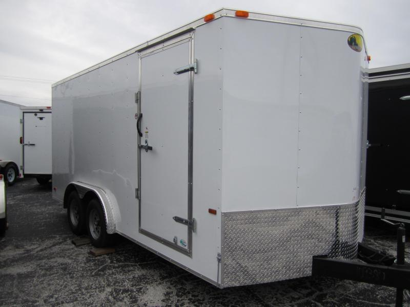2015 Continental Cargo 8x16 Cargo / Enclosed Trailer