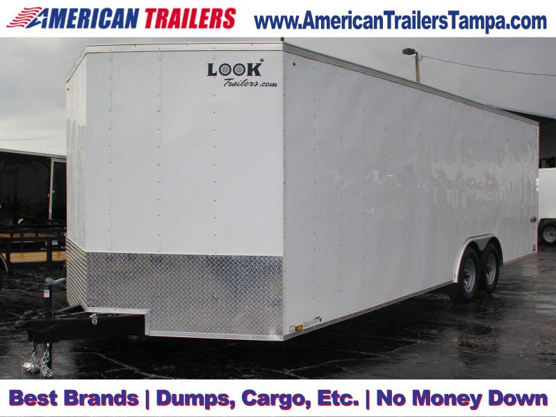 USED: 8.5x24 LOOK Trailers | Enclosed Trailer