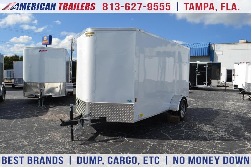 6x12 Continental Cargo | Enclosed Trailer [Barn Doors]