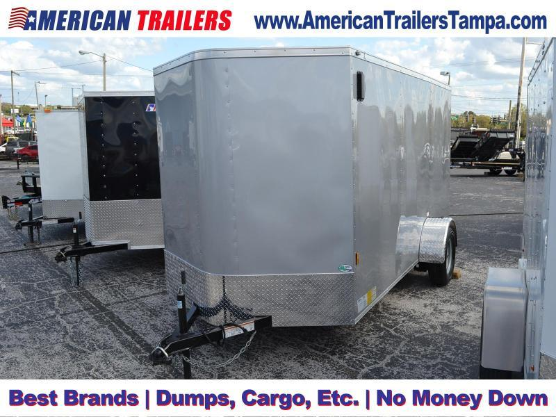 6x12 Continental Cargo | Enclosed Trailer [Diamond Ice]