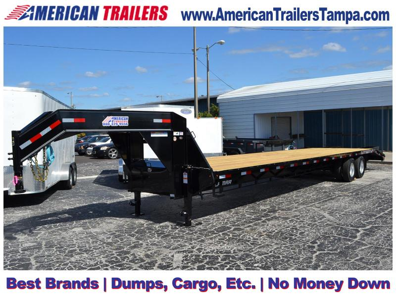 8.5x36 Lamar Trailers |Gooseneck Equipment Trailer [Deck-Over]
