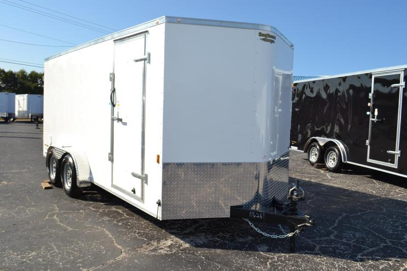 7x16 Continental Cargo | *Enclosed*Trailer*Trailers* with Rear Barn Doors