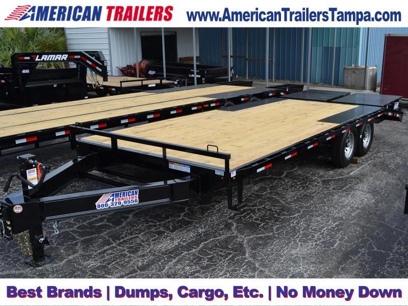 8.5x22 Lamar Trailers | Equipment Trailer