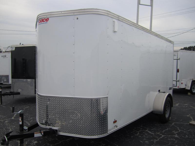 2014 Pace American 6x10 VNose Cargo / Enclosed Trailer