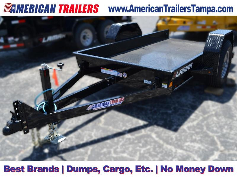5x10 Lamar Trailers | Tilt Deck Scissor Hauler