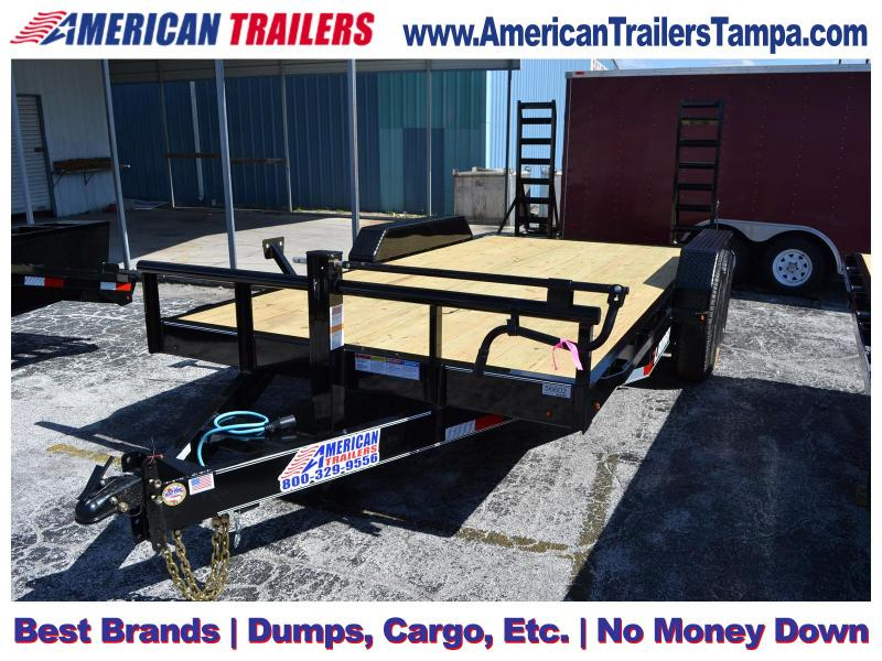7x16 Lamar Trailers | Equipment Trailer