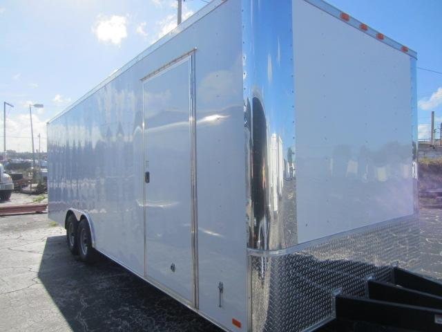 2014 Bendron Titan 8.5x24 Cargo / Enclosed Trailer