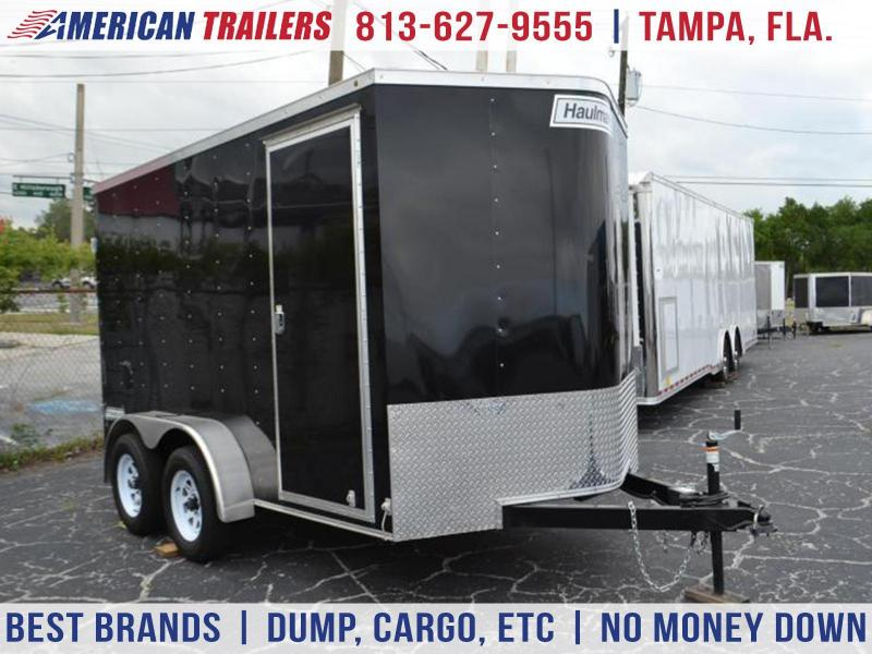 USED: 2017 7x12 Haulmark Passport | Enclosed Trailer