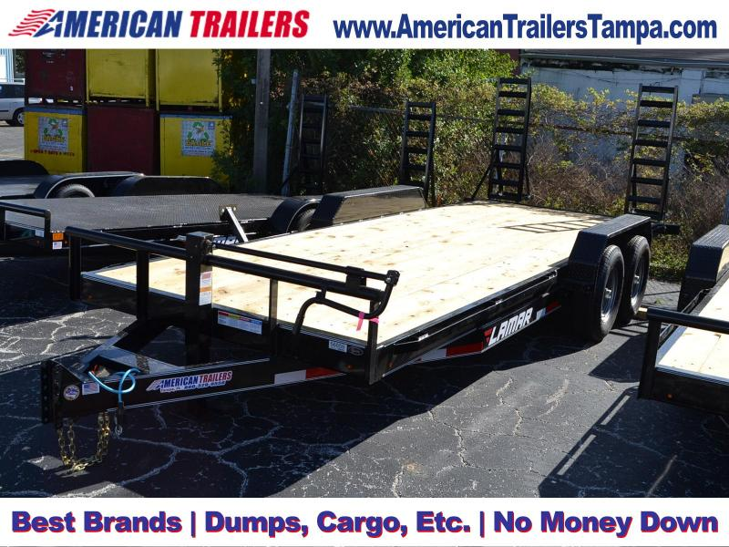 7x20 Flat Deck Lamar Trailers | Equipment Trailer