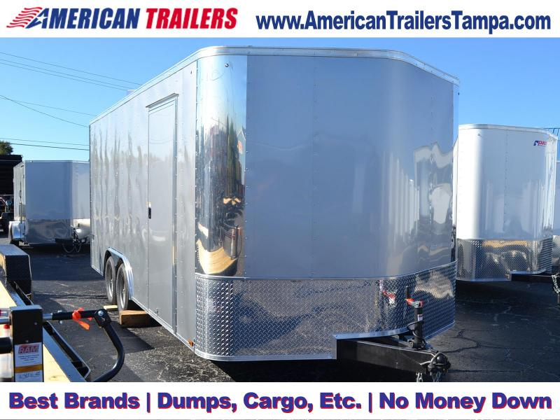 8.5x18 Pace American | Enclosed Trailer