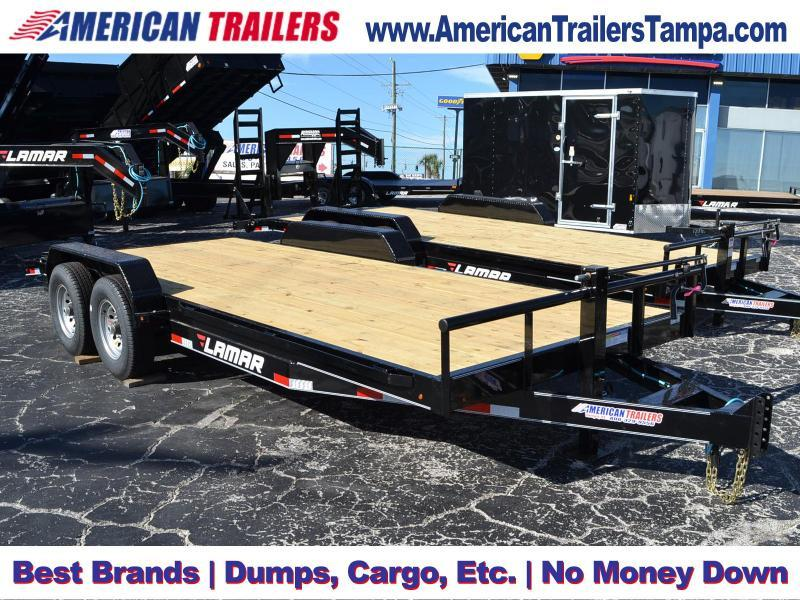 7x18 Lamar Trailers | Equipment Trailer