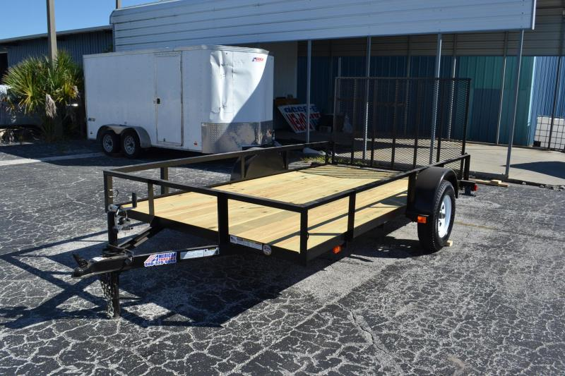 Utility trailers american trailers tampa new and used for 5x10 wood floor trailer