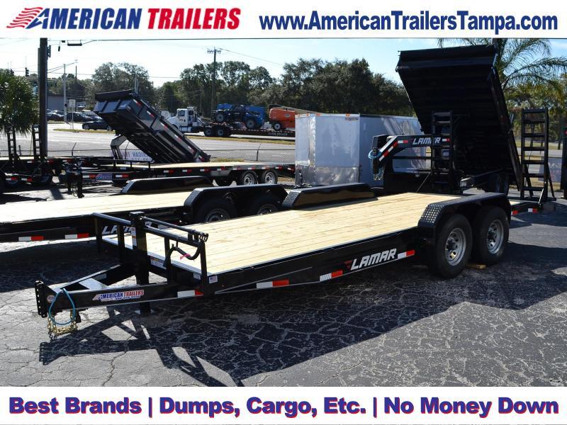7x20 Lamar Trailers - Equipment Trailer
