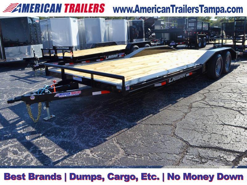 8.5x22 Lamar Trailers   Equipment Trailer