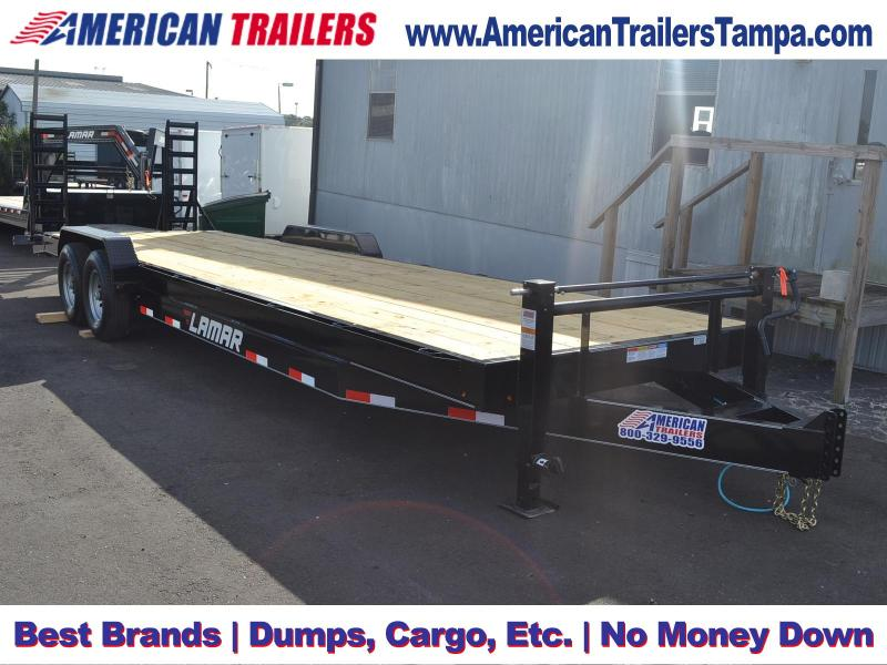7x28 Lamar Trailers | Equipment Trailer