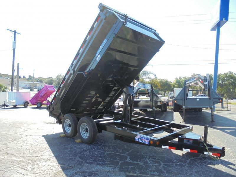 7x14 Load Trail KING | Dump Trailer