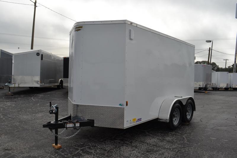6x12 Continental Cargo | Enclosed Trailer [Tandem Axles]
