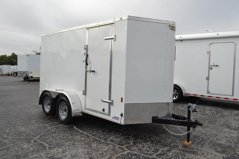 6x12 Continental Cargo | Enclosed Trailer [Tandem Axles]