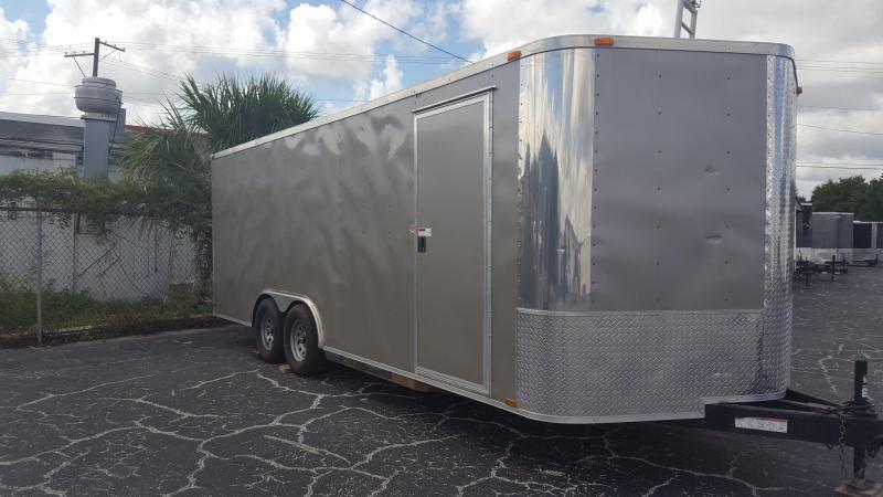 2014 Arising 8.5x20 Enclosed Cargo Trailer