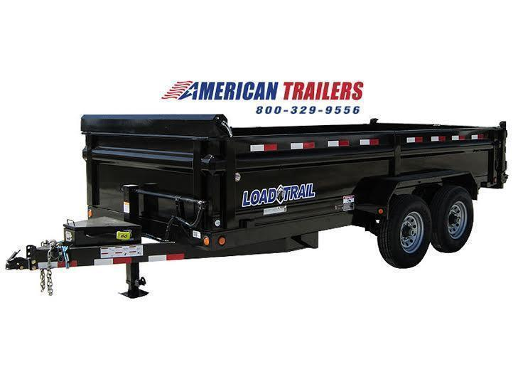 Load Trail 7x14 Dump Trailer